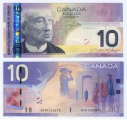 КАНАДА - 10 долларов 2009 года