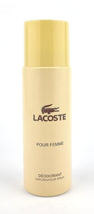 Парфюмированный дезодорант Lacoste Pour Femme 200 ml (Для женщин)