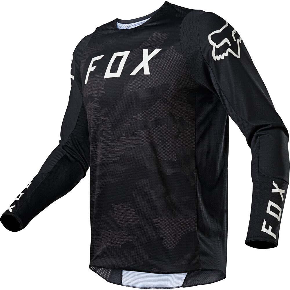 Fox 2021 360 Speyer Black джерси для мотокросса