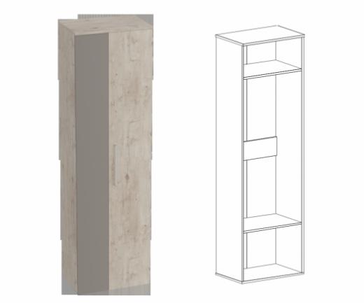 """Прихожая """"Фан"""" шкаф для одежды"""