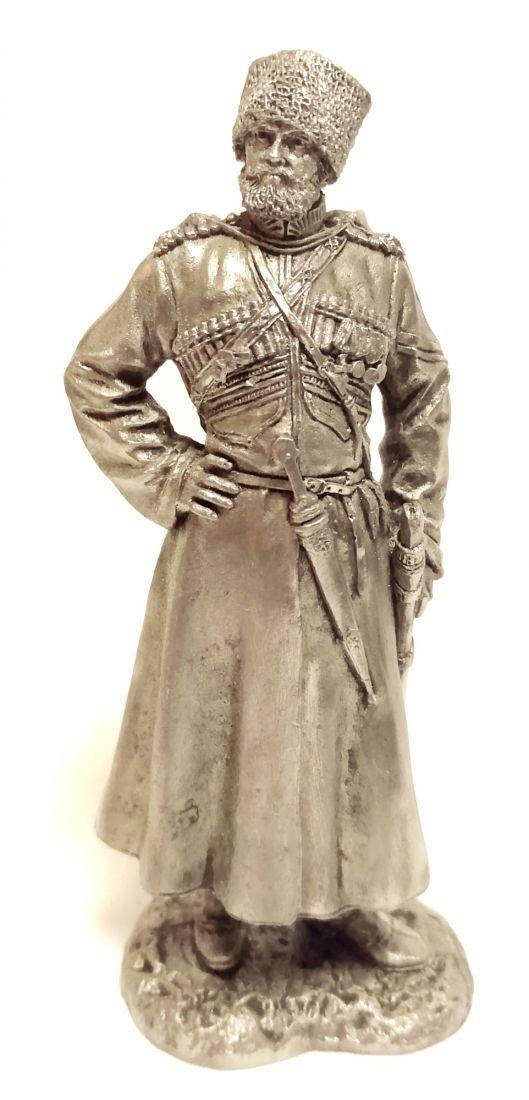 Фигурка старший урядник императорского конвоя олово