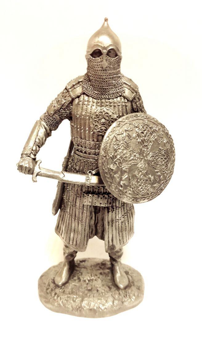 Фигурка Восточный воин олово