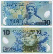НОВАЯ ЗЕЛАНДИЯ - 10 долларов. Полимерная банкнота