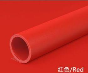 Фон пластиковый ПВХ 70х140 для предметной съемки красный