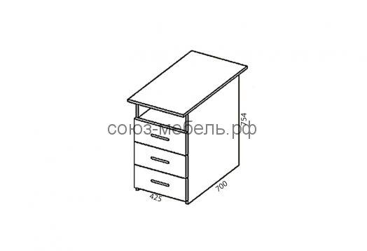 Офисная мебель Триумф (стол СЯ 2шт.+шкаф ШК+шкаф ШО+угол УГ+пенал ПС+тумба ТН+стол СП-0.7х0.45+стол СТ-1.4+стол СП-0.7х0.45+стол СТ-1.6+стол СТ-1.6+стол СП-0.7х0.45+стол СТ-1.4+столСП-0.7х0.45)