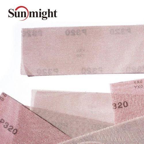 Сетчатый абразив на липучке SUN NET Р120 в полосках 70х420мм