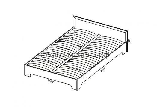 Гостиничная мебель Вояж (вешалка ВШ+зеркало Z1+тумба ТБ+тумба ТЯ+кровать КР 1,6x2,0+тумба ТЯ+шкаф ШК1+зеркало Z+стол СХ)