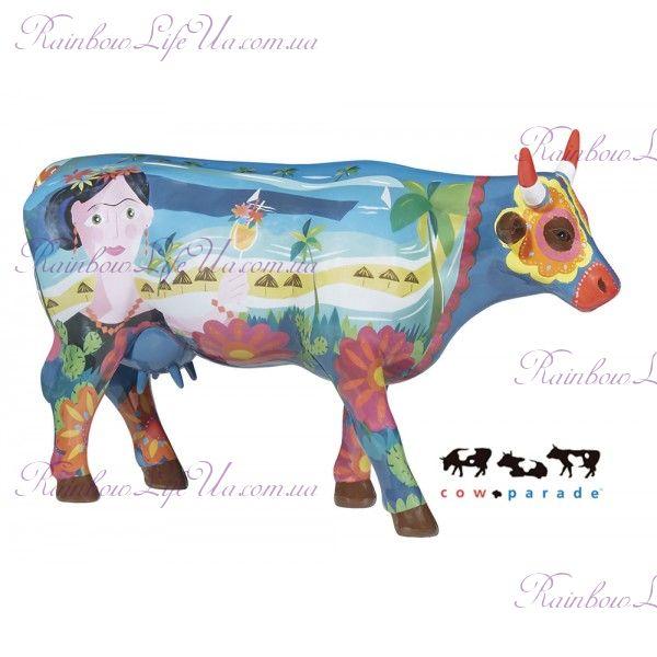 """Коллекционная статуэтка корова """"Frida vai a Cancun"""", Size L"""