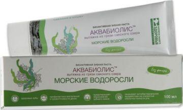 Зубная паста АКВАБИОЛИС «Морские водоросли» 100 мл