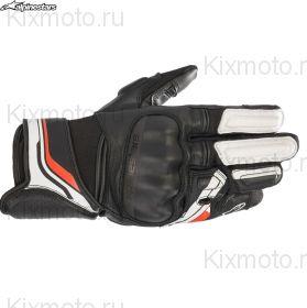Перчатки Alpinestars Booster V2, Черно-белые