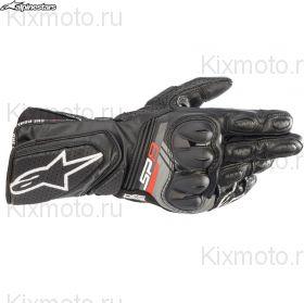 Перчатки Alpinestars SP-8 V3, Черно-белые