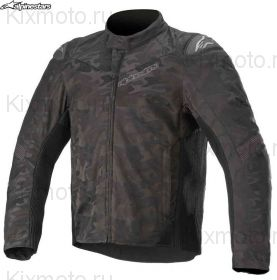 Мотокуртка Alpinestars T-SP5 Rideknit Camo, Черная комуфляжная