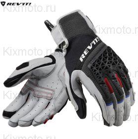 Перчатки Revit Sand 4, Серо-черные
