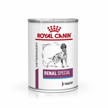 Роял Канин Renal Special для собак (Ренал Спешиал) паштет 410г.