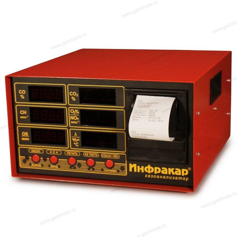 ИНФРАКАР М-1.02 газоанализатор со встроенным принтером