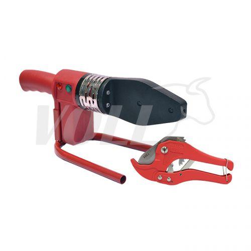 Аппарат для раструбной сварки VOLL V-Weld R040 и ножницы V-Blade 42