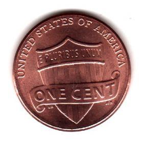 США 1 цент 2015 D