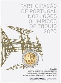 Олимпийские игры в Токио 2 евро Португалия 2021 BU