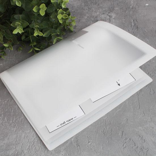 Папка для выкроек формата А5, белая
