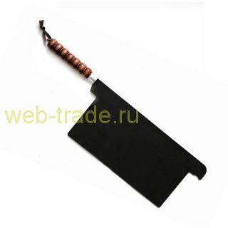 Разделитель жаровни мангала с деревянной ручкой