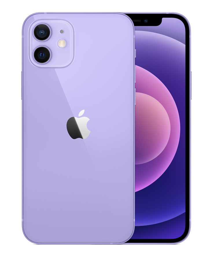 Смартфон Apple iPhone 12 128Gb A2404 (Purple) 2 Sim