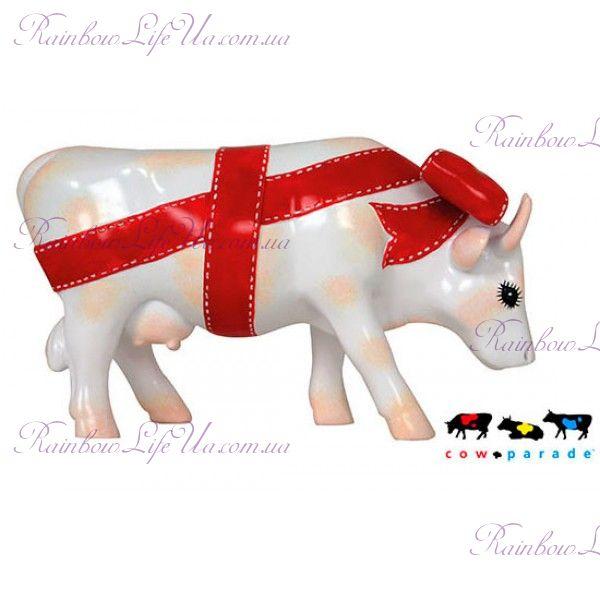 "Коллекционная статуэтка корова ""Present"", Size M"