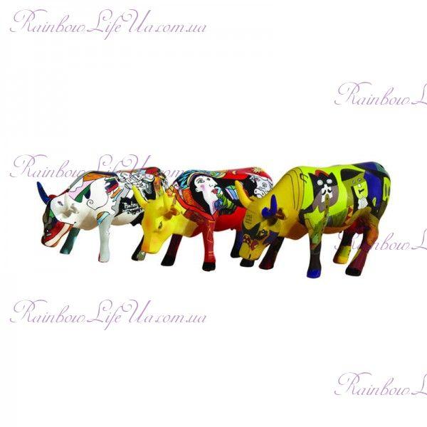 """Набор коллекционных статуэток коровы """"Picowsso"""""""
