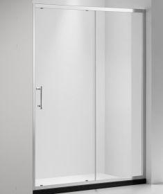 Душевая дверь Oporto Shower A-56 110x185 см прозрачное стекло