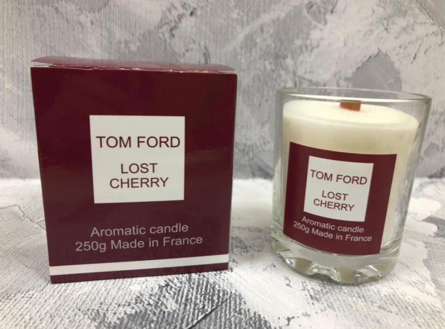 Парфюмерная свеча Tom Ford Lost Cherry 250 мл