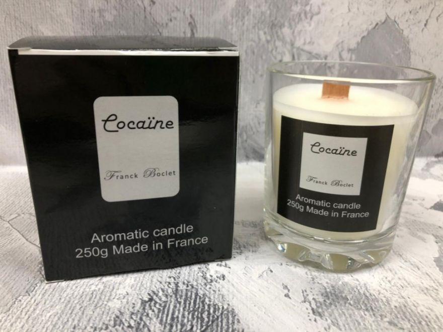 Парфюмерная свеча Franck Boclet Cocaïne 250 мл