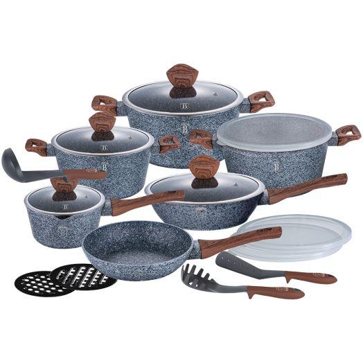 BH-6198 Набор посуды 15пр.