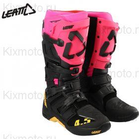 Мотоботы Leatt 4.5 S21, Розово-черные