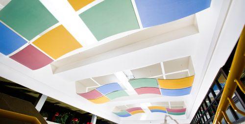 Потолочная плита Optima Canopy — Convex (4) 1170x1040x30
