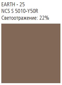 NATURAL TONES 2400x1200x40 кромка A24 цвет Earth
