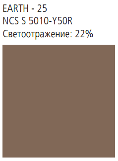 NATURAL TONES 600x600x20 кромка E24S8 цвет Earth