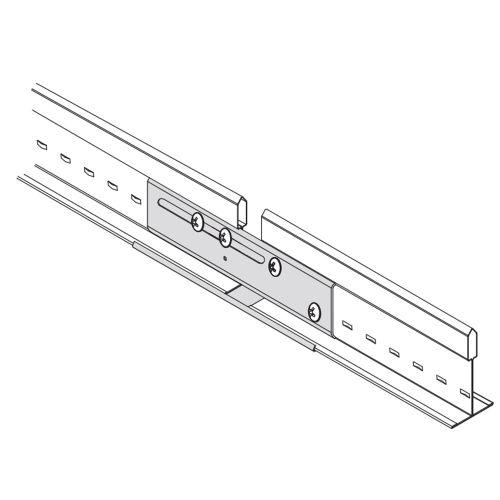 Сейсмо-шина соединительная для несущих реек 24мм (в коробке 100 шт.)