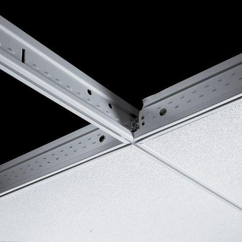 Поперечная рейка Silhouette 15XL 1200x44 мм с щелью 6 мм (каркас черный)