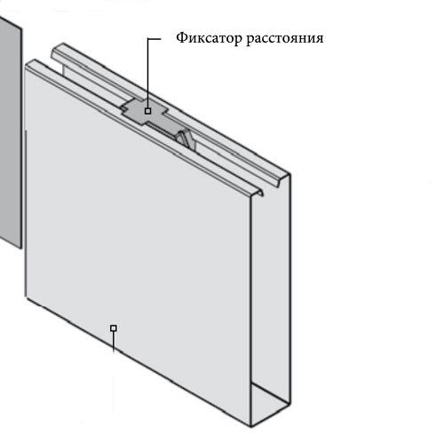 Фиксатор расстояния (в коробке 100 шт.)