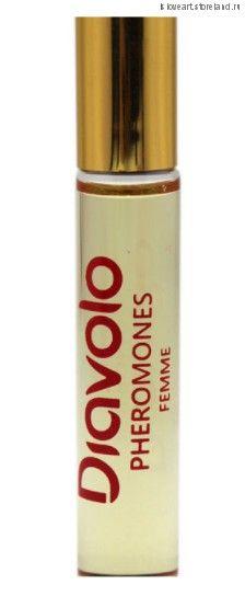 """Ароматное эфирное масло для женщин с феромонами """"Diavolo""""  Geisha, 8мл."""