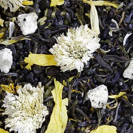 Улыбка Фортуны - зеленый чай с натуральными добавками