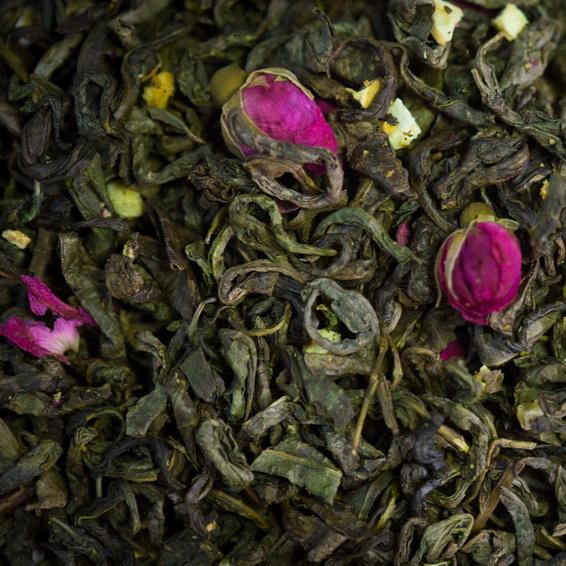 Шамаханская царица - чай зеленый с натуральными добавками