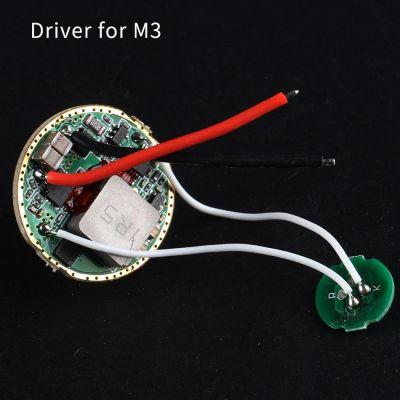 Драйвер M3 FX-70, 5000mA, 4.2В, 26мм, 4 режима (для CREE XHP70)