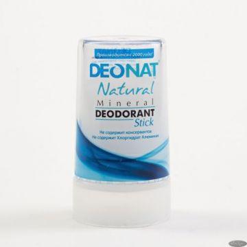 Дезодорант-кристалл ДеоНат 40 гр RELAX, стик чистый