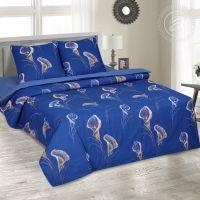 «Каллы» (DE LUXE) постельное белье Поплин 1.5 спальный