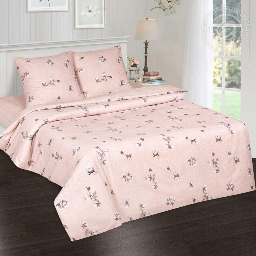«Нежность хлопка» (DE LUXE) постельное белье Поплин 1.5 спальный