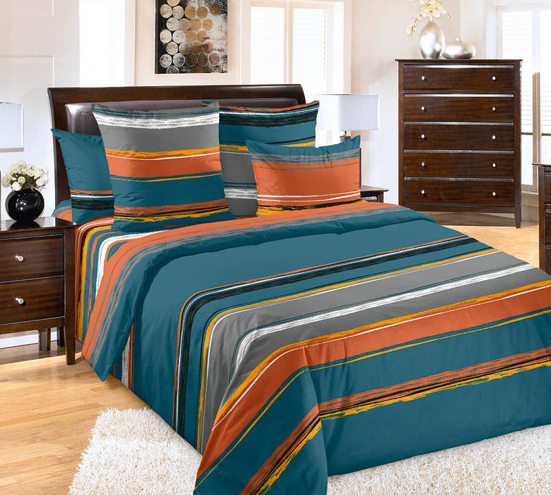 «Эстер 3» постельное белье Бязь 2-х спальный с евро