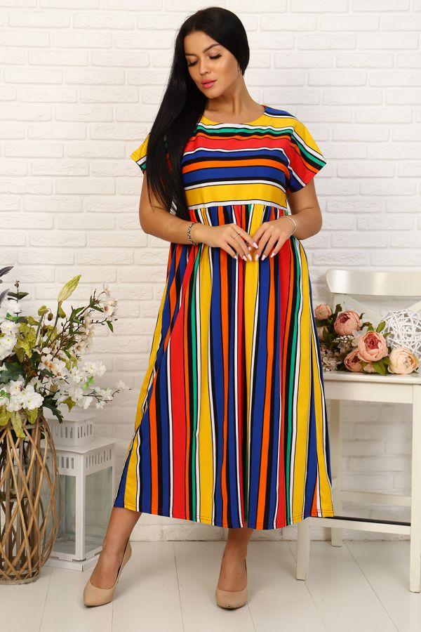 Платье 35024 [полоса]