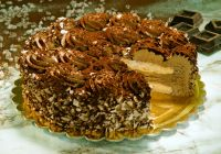 Торт Шоколадная меренга, Meringata Cioccolato Moralberti