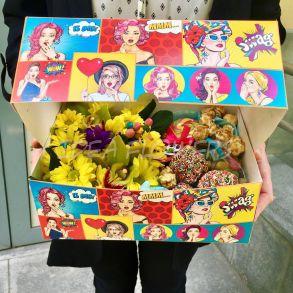 "Box ""Pop Art"""