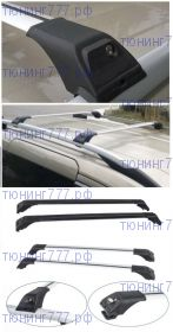 Багажник на рейлинги, CAN Tourmaline, два цвета дуг